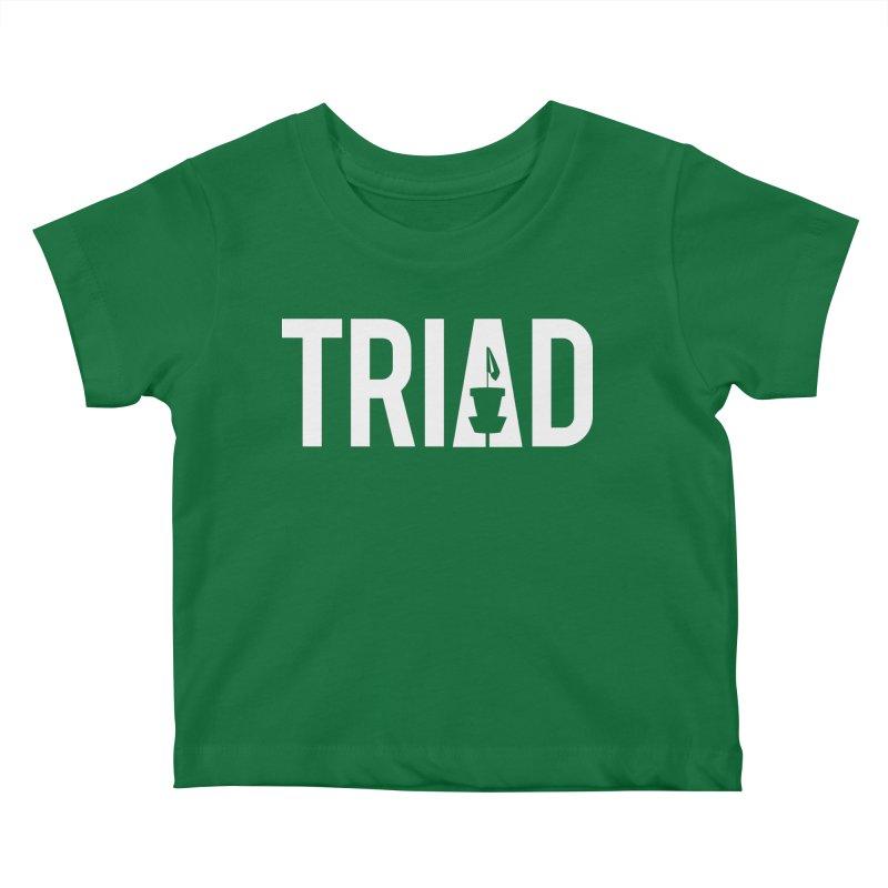 Triad Kids Baby T-Shirt by CATCHING CHAIN DISC GOLF BRAND