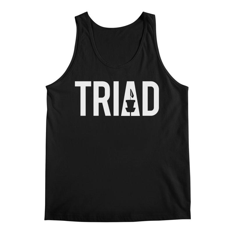 Triad Men's Tank by CATCHING CHAIN DISC GOLF BRAND