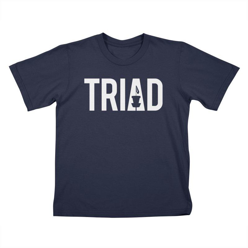 Triad Kids T-Shirt by CATCHING CHAIN DISC GOLF BRAND