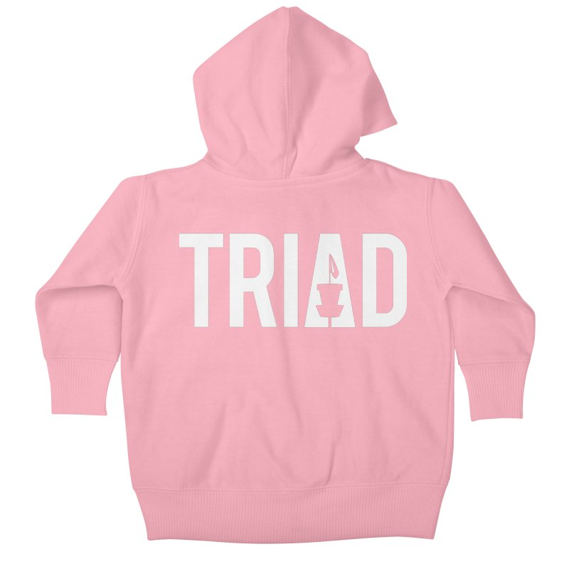 Triad Kids Baby Zip-Up Hoody by CATCHING CHAIN DISC GOLF BRAND