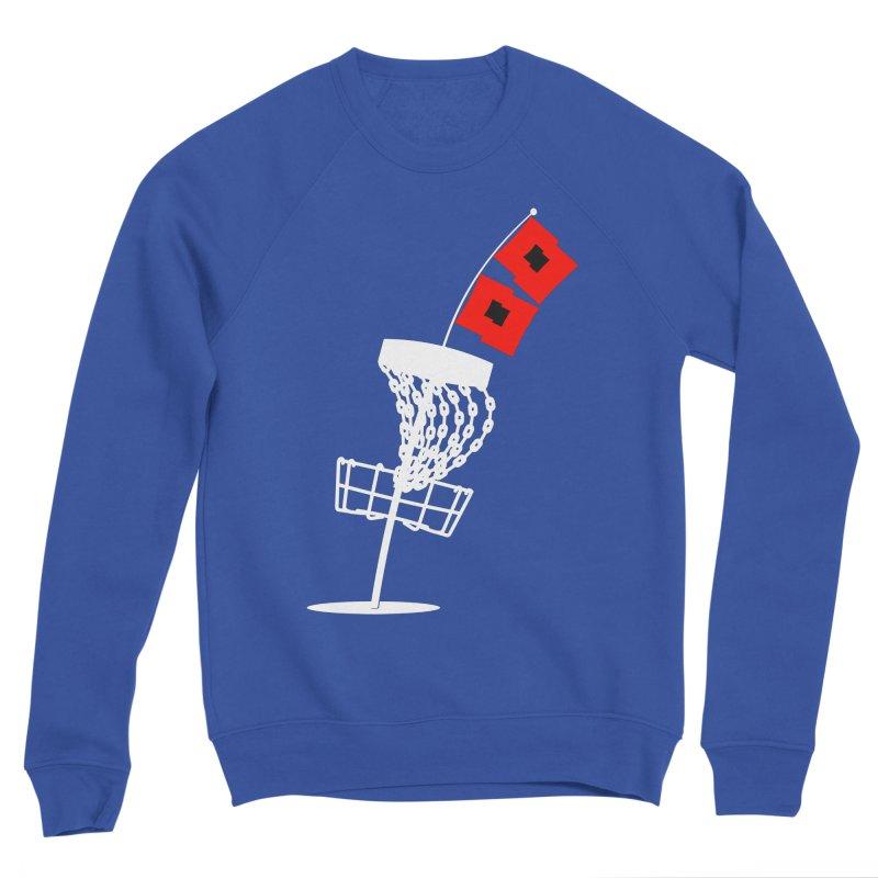 Hurricane Disc Golf Men's Sweatshirt by CATCHING CHAIN DISC GOLF BRAND