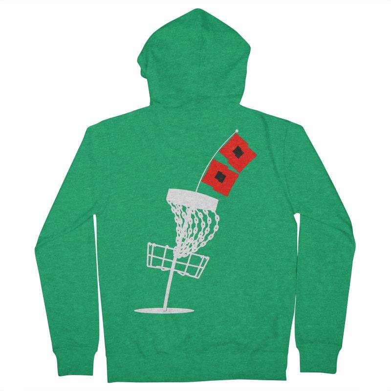 Hurricane Disc Golf Men's Zip-Up Hoody by CATCHING CHAIN DISC GOLF BRAND