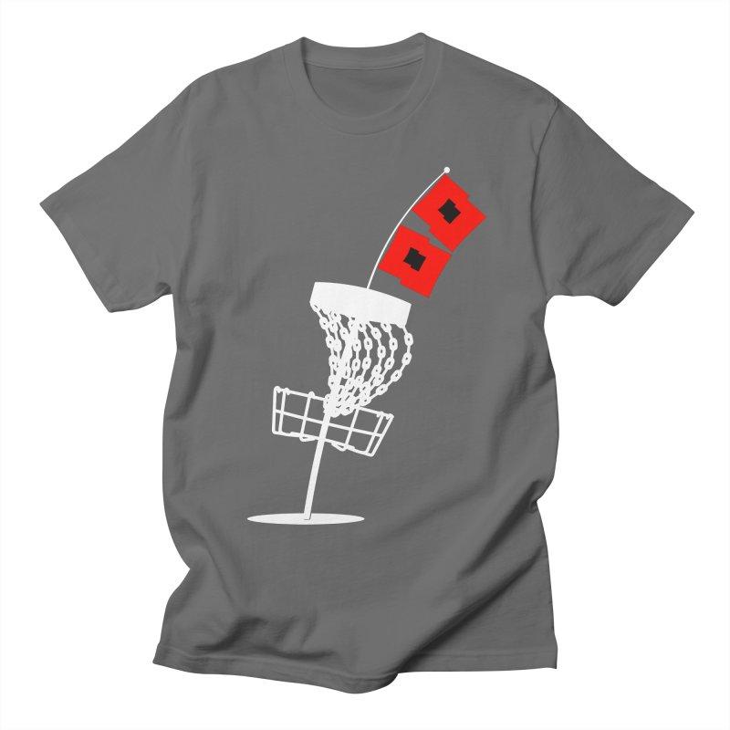 Hurricane Disc Golf Men's T-Shirt by CATCHING CHAIN DISC GOLF BRAND
