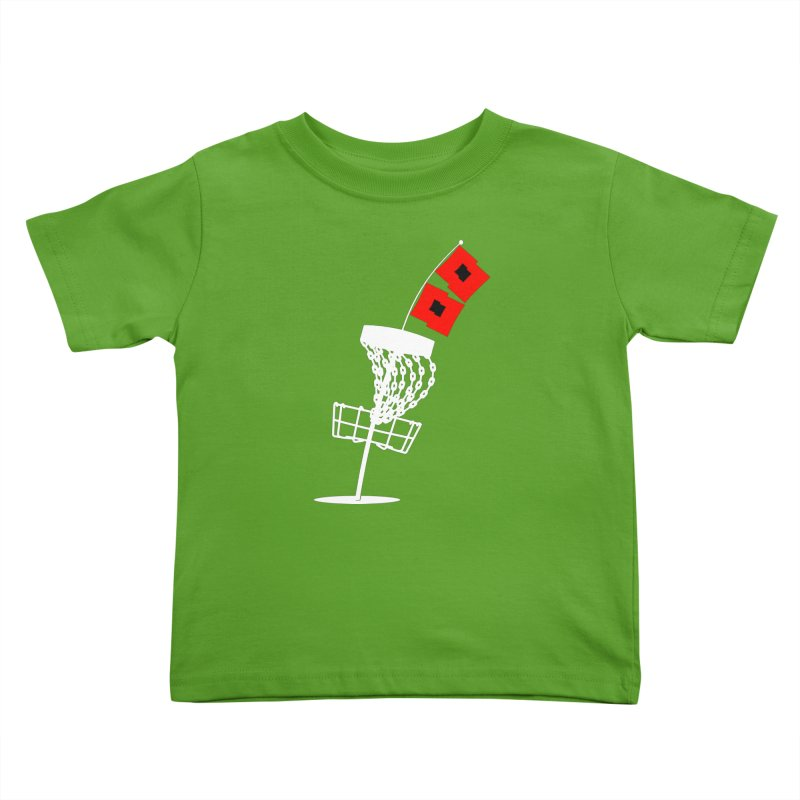 Hurricane Disc Golf Kids Toddler T-Shirt by CATCHING CHAIN DISC GOLF BRAND