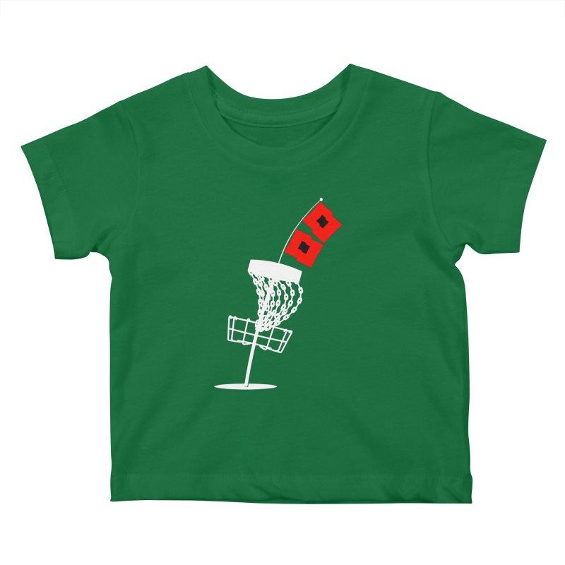 Hurricane Disc Golf Kids Baby T-Shirt by CATCHING CHAIN DISC GOLF BRAND