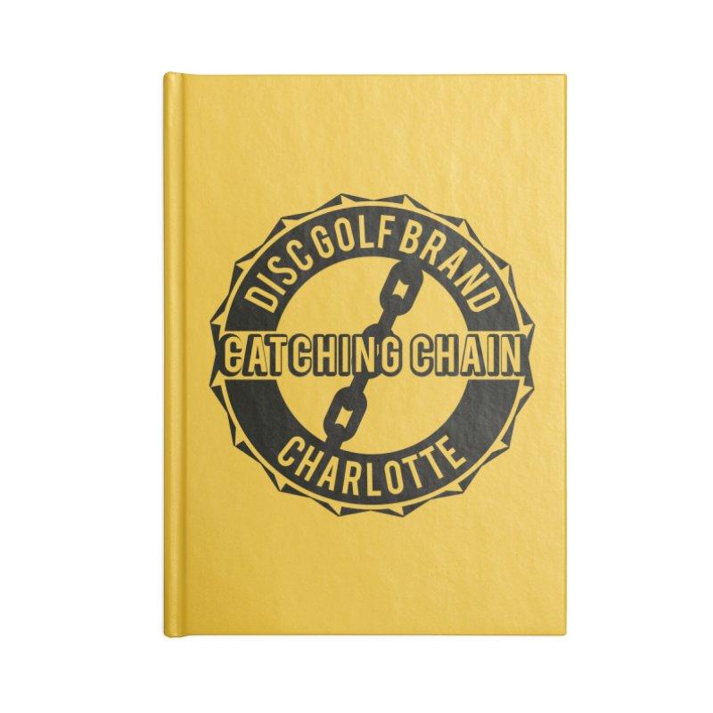 Catching Chain Disc Golf Brand Accessories Notebook by CATCHING CHAIN DISC GOLF BRAND