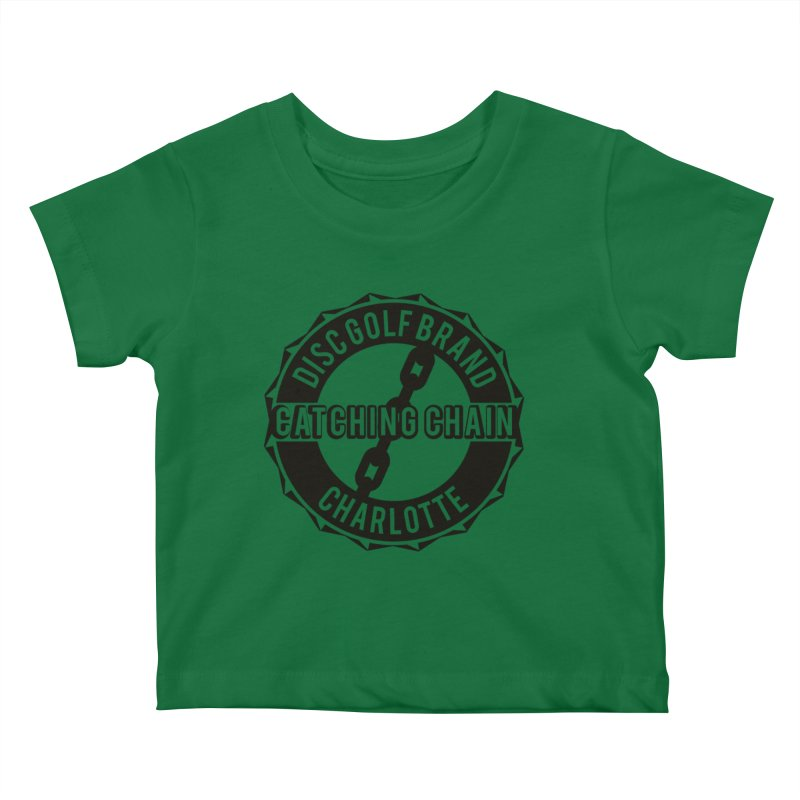 Catching Chain Disc Golf Brand Kids Baby T-Shirt by CATCHING CHAIN DISC GOLF BRAND