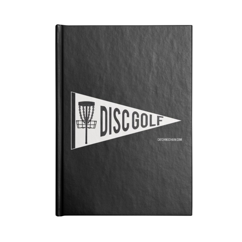 PENNANT Accessories Notebook by CATCHING CHAIN DISC GOLF BRAND