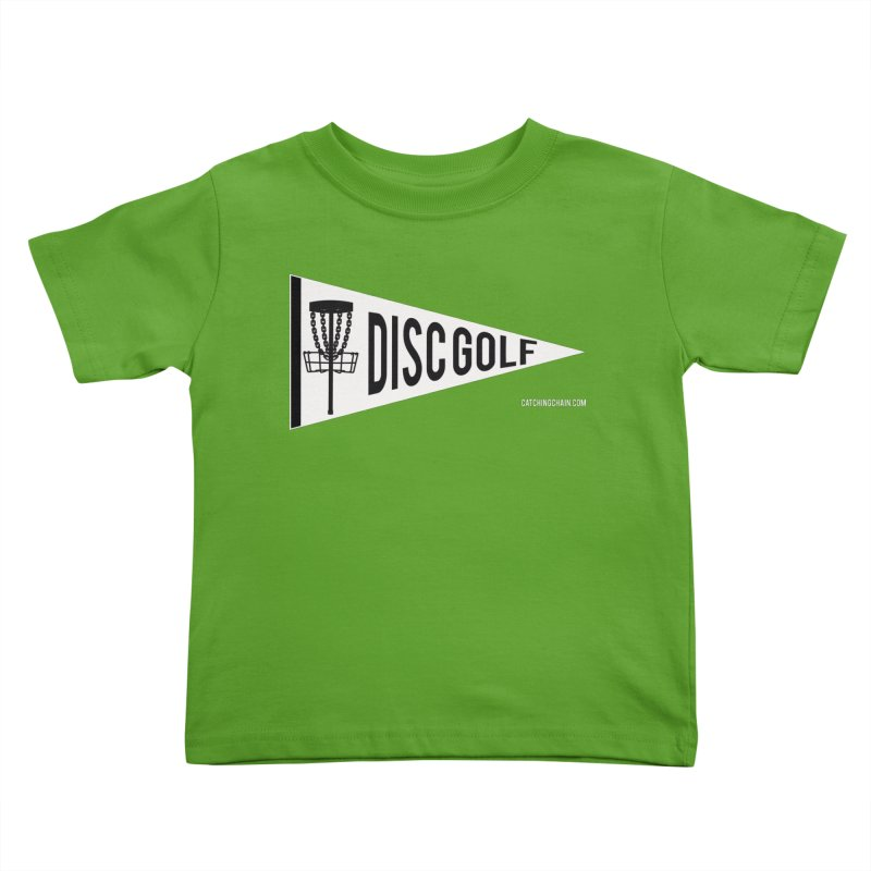 PENNANT Kids Toddler T-Shirt by CATCHING CHAIN DISC GOLF BRAND