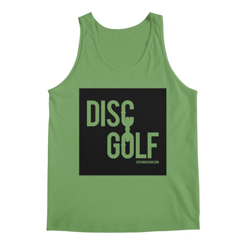 Forever Linked Men's Tank by CATCHING CHAIN DISC GOLF BRAND