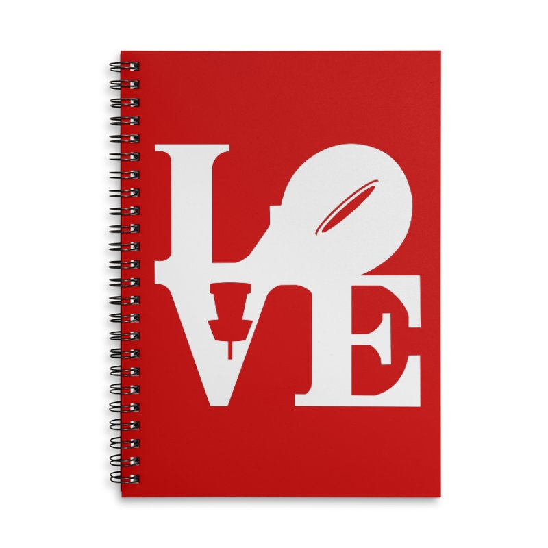 Disc Golf Love Accessories Notebook by CATCHING CHAIN DISC GOLF BRAND