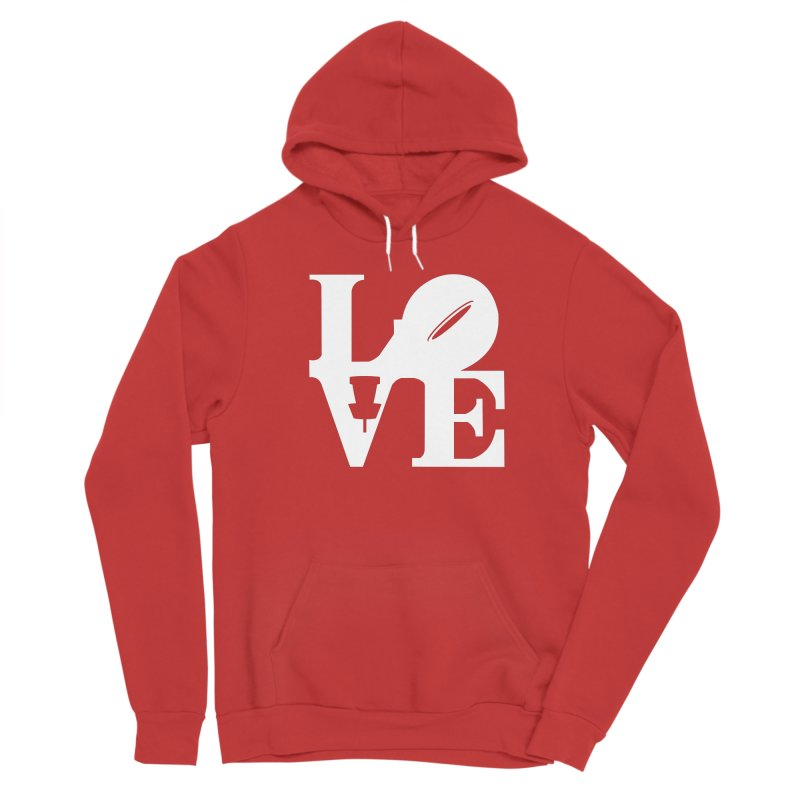 Disc Golf Love Women's Pullover Hoody by CATCHING CHAIN DISC GOLF BRAND