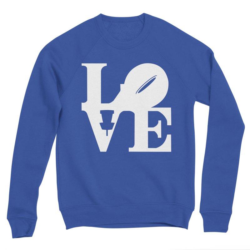 Disc Golf Love Men's Sweatshirt by CATCHING CHAIN DISC GOLF BRAND