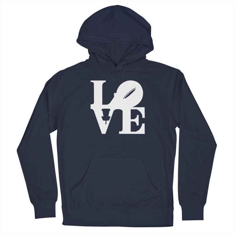Disc Golf Love Men's Pullover Hoody by CATCHING CHAIN DISC GOLF BRAND
