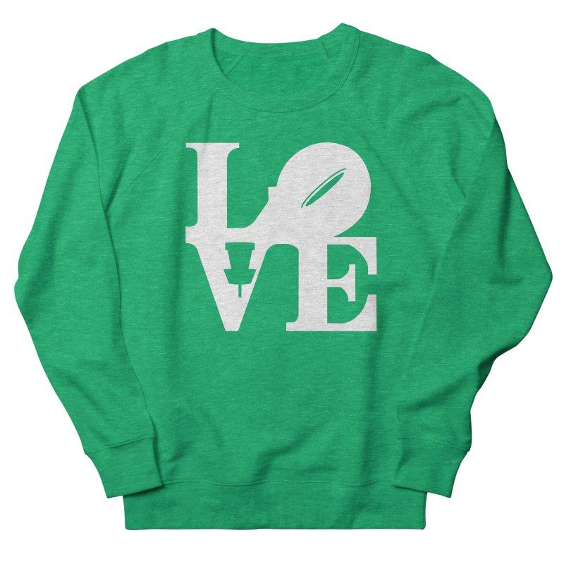 Disc Golf Love Women's Sweatshirt by CATCHING CHAIN DISC GOLF BRAND