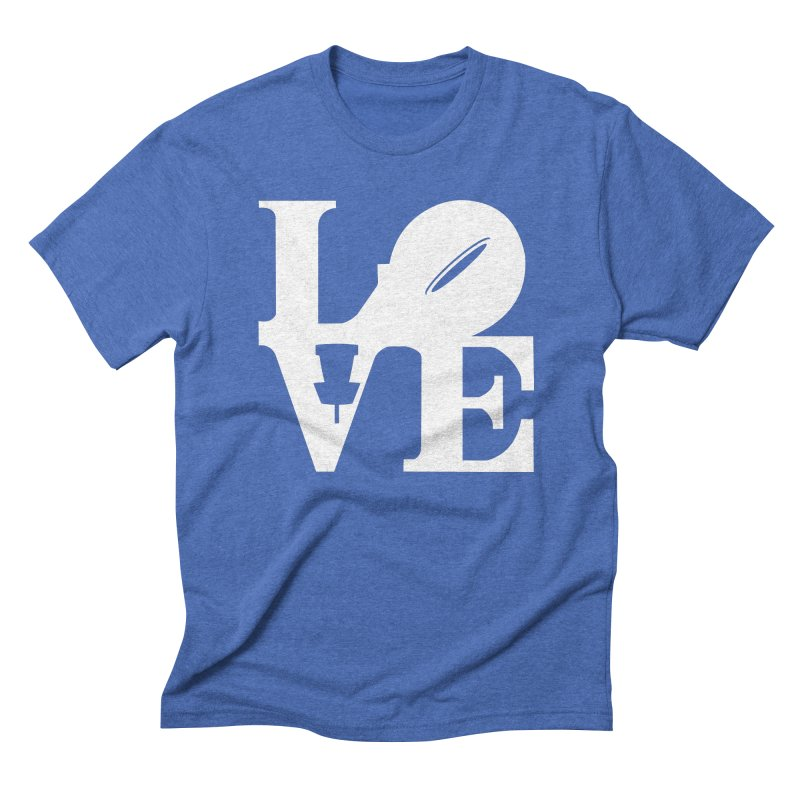 Disc Golf Love Men's T-Shirt by CATCHING CHAIN DISC GOLF BRAND