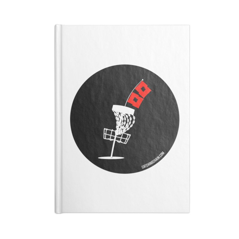 Hurricane Disc Golf Accessories Notebook by CATCHING CHAIN DISC GOLF BRAND