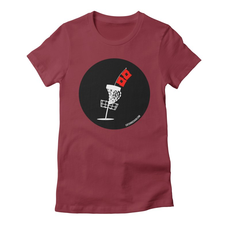 Hurricane Disc Golf Women's T-Shirt by CATCHING CHAIN DISC GOLF BRAND