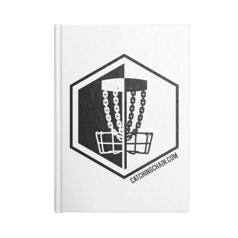 Catching Chain Disc Golf Accessories Notebook by CATCHING CHAIN DISC GOLF BRAND