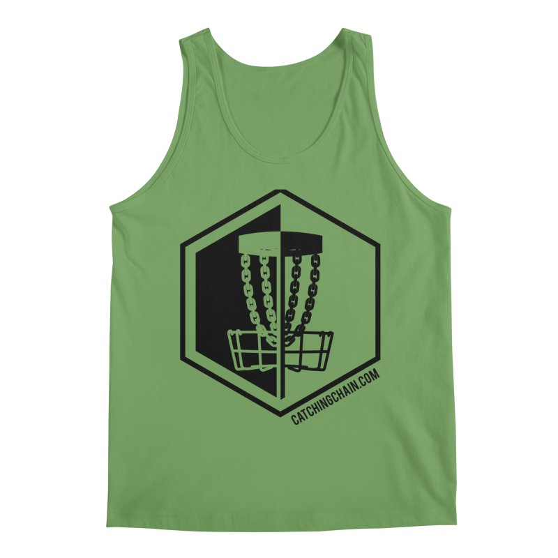Catching Chain Disc Golf Men's Tank by CATCHING CHAIN DISC GOLF BRAND