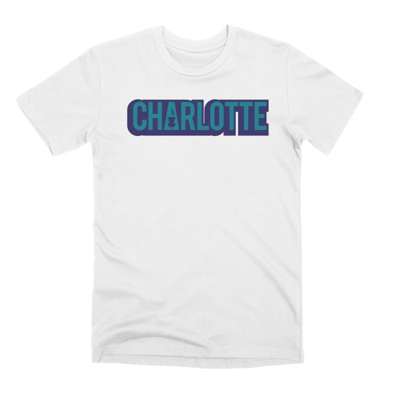 Charlotte Disc Golf Men's T-Shirt by CATCHING CHAIN DISC GOLF BRAND