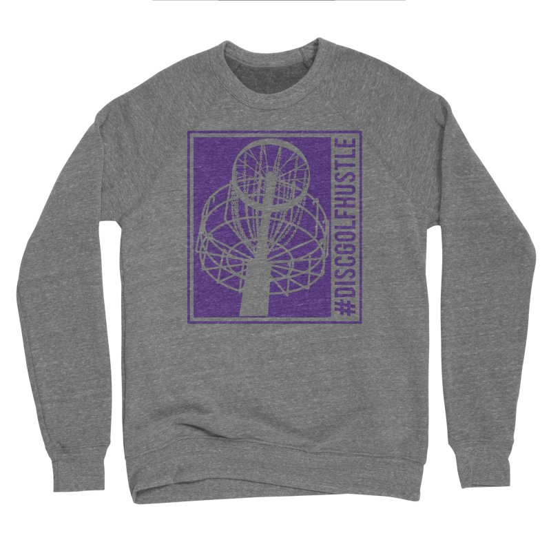 #discgolfhustle Men's Sweatshirt by CATCHING CHAIN DISC GOLF BRAND
