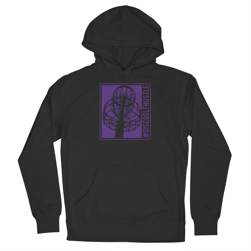 #discgolfhustle Men's Pullover Hoody by CATCHING CHAIN DISC GOLF BRAND