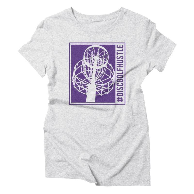 #discgolfhustle Women's T-Shirt by CATCHING CHAIN DISC GOLF BRAND