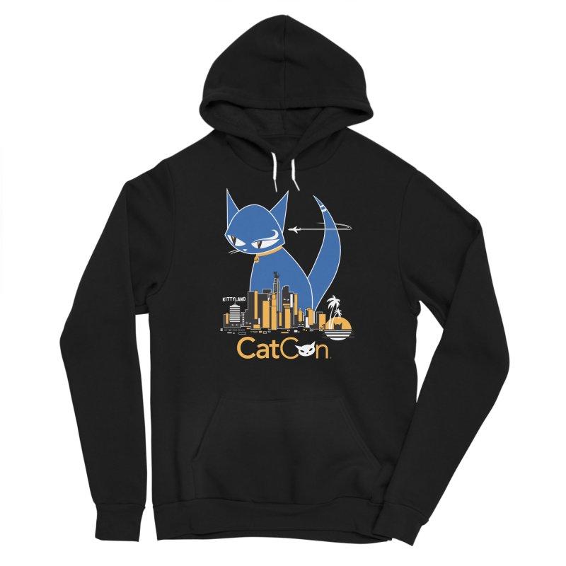 CatCon Kittyland Skyline Women's Pullover Hoody by CatCon's Artist Shop
