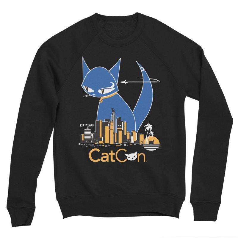 CatCon Kittyland Skyline Men's Sweatshirt by CatCon's Artist Shop