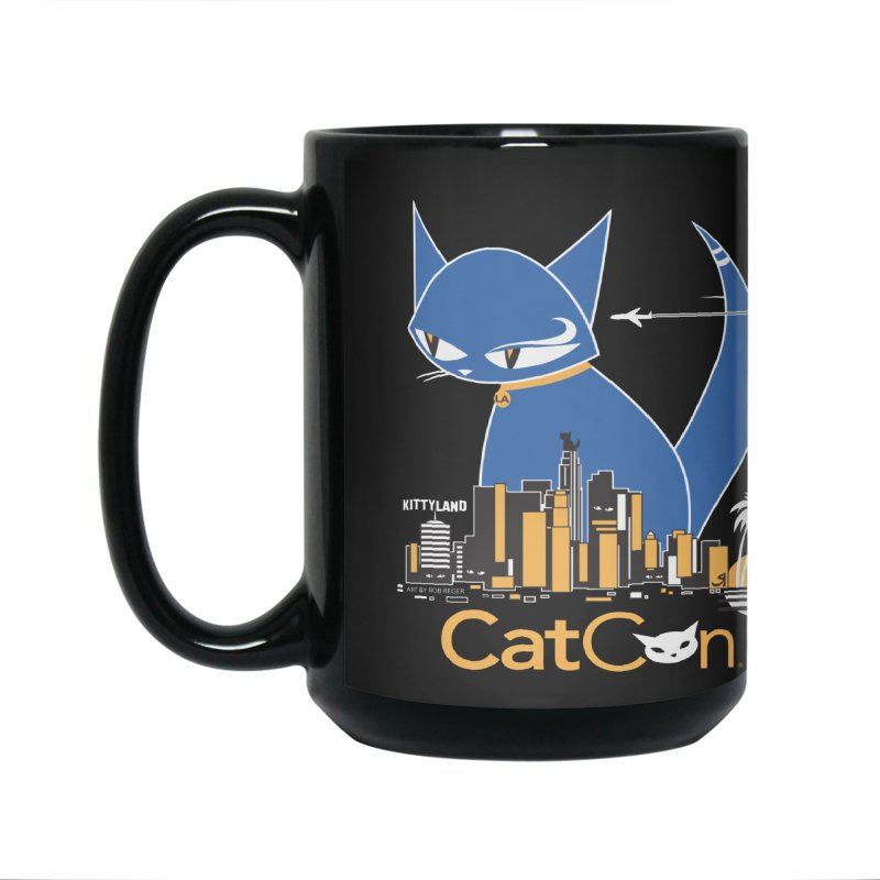 CatCon Kittyland Skyline Accessories Mug by CatCon's Artist Shop