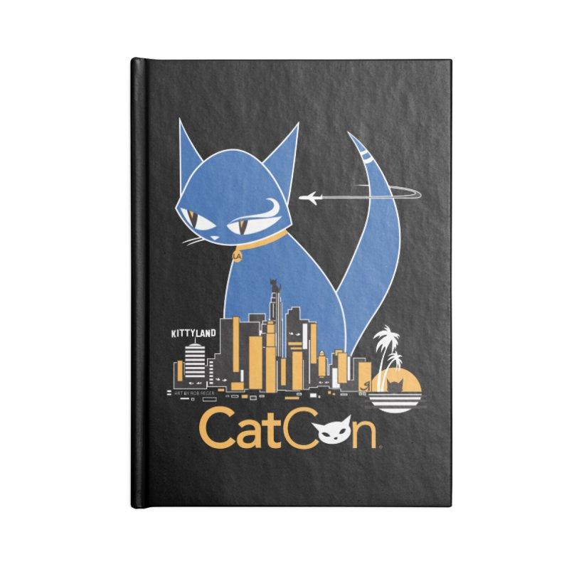 CatCon Kittyland Skyline Accessories Notebook by CatCon's Artist Shop