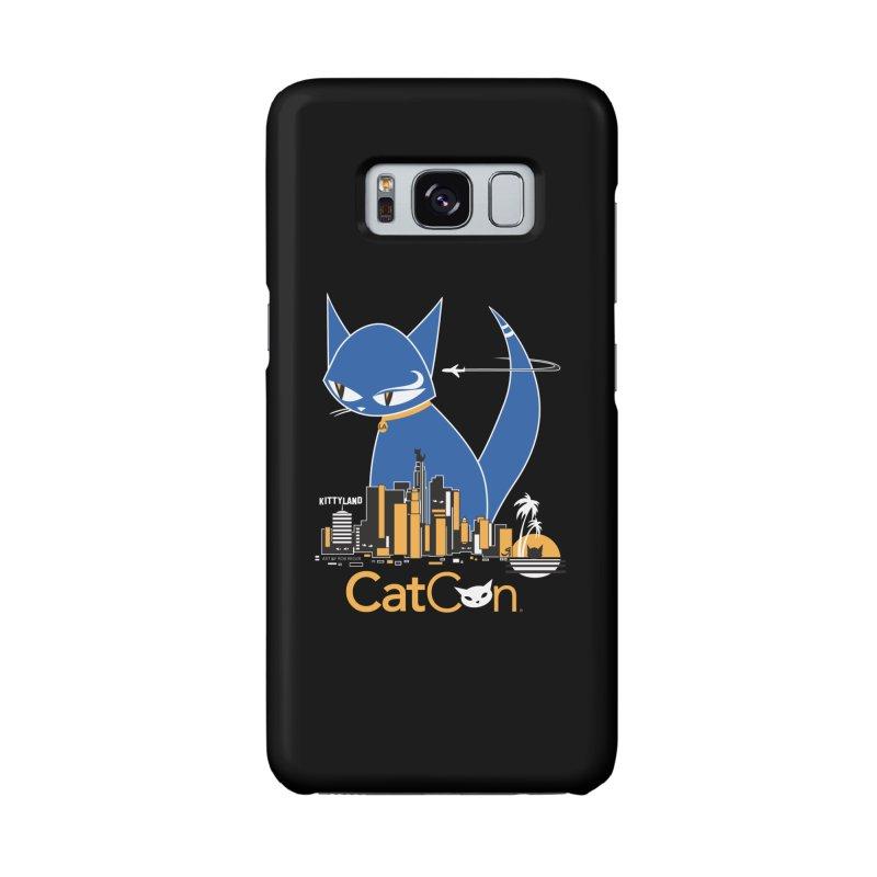 CatCon Kittyland Skyline Accessories Phone Case by CatCon's Artist Shop