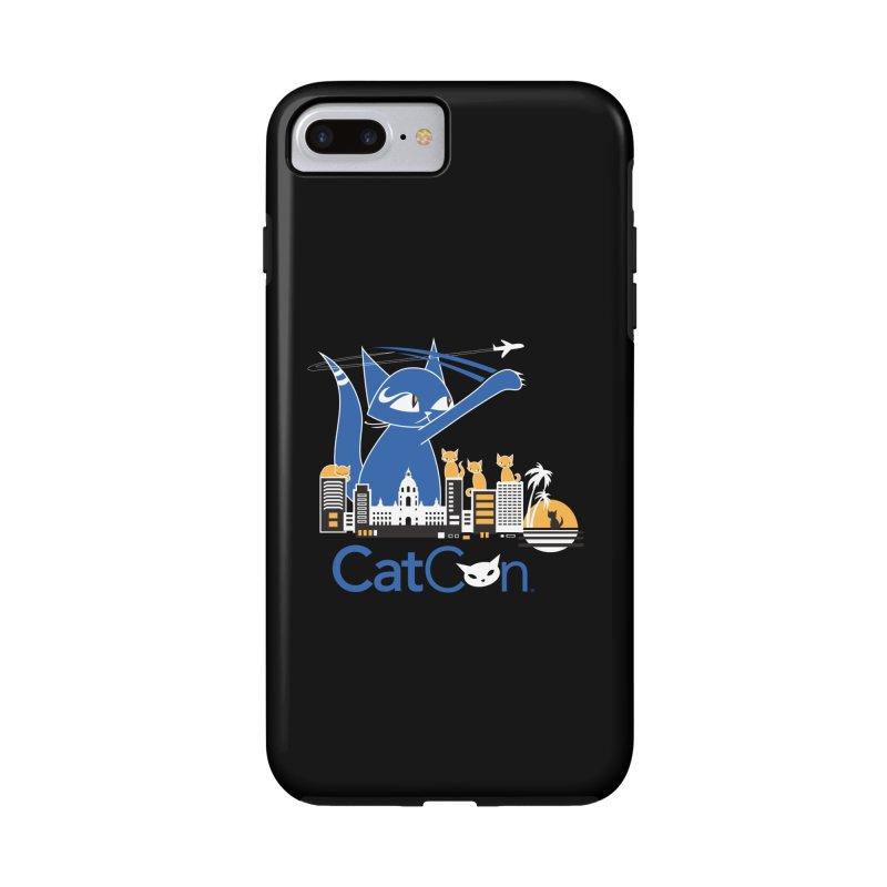 CatCon Purr-sadena Skyline Accessories Phone Case by CatCon's Artist Shop