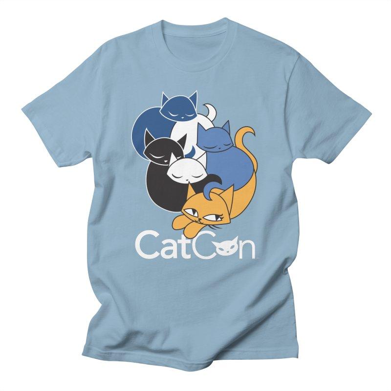 CatCon Five Cats Men's T-Shirt by CatCon's Artist Shop