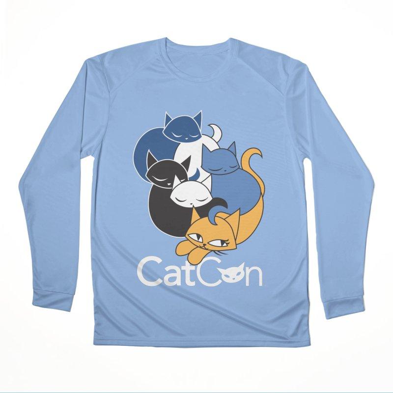 CatCon Five Cats Men's Longsleeve T-Shirt by CatCon's Artist Shop