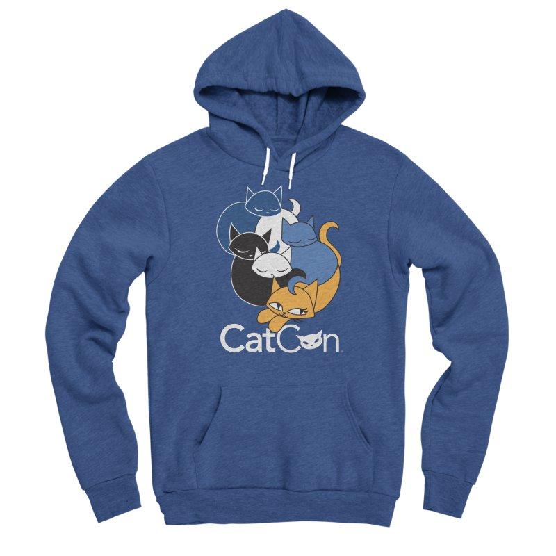 CatCon Five Cats Men's Pullover Hoody by CatCon's Artist Shop