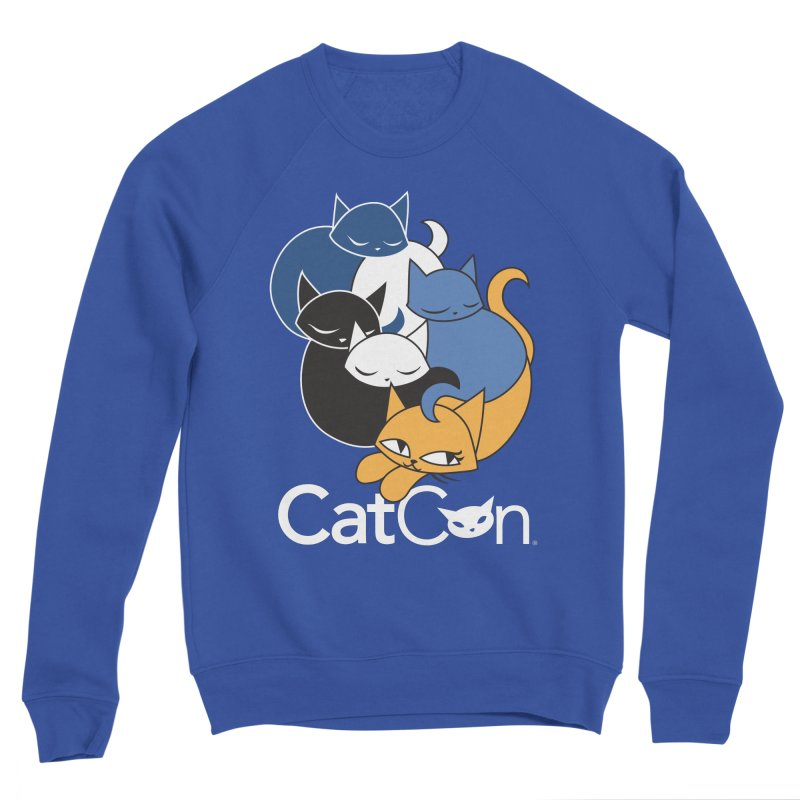 CatCon Five Cats Men's Sweatshirt by CatCon's Artist Shop