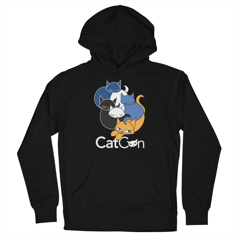 CatCon Five Cats Women's Pullover Hoody by CatCon's Artist Shop
