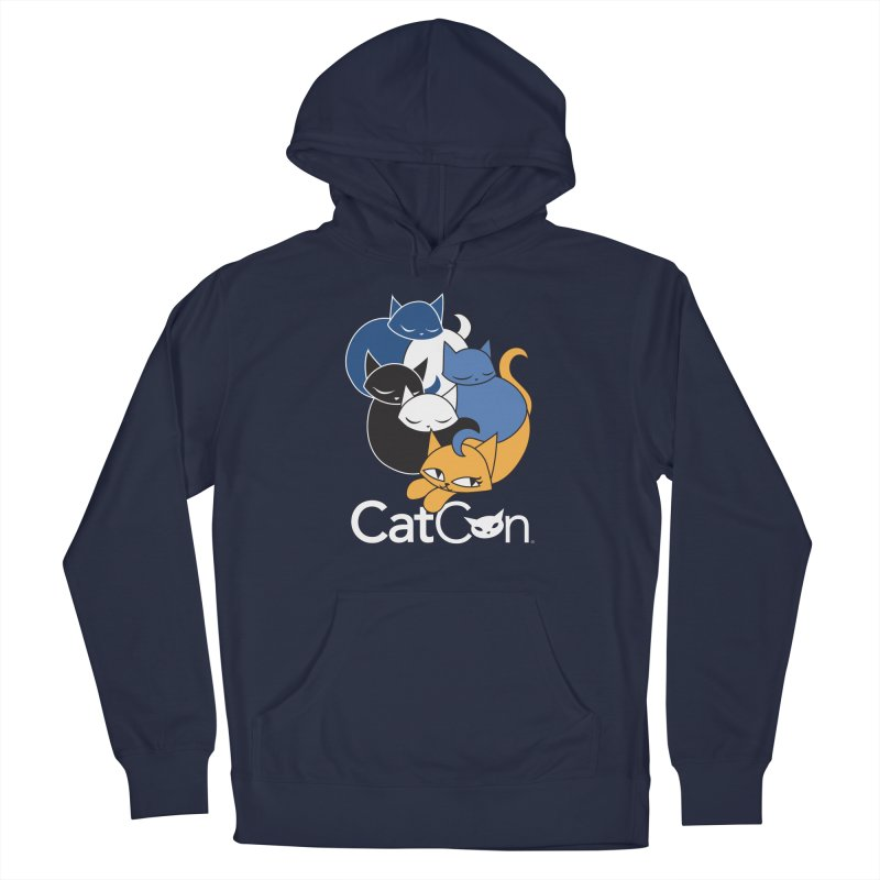 CatCon Five Cats Men's Pullover Hoody by CatCon's Artist Shop