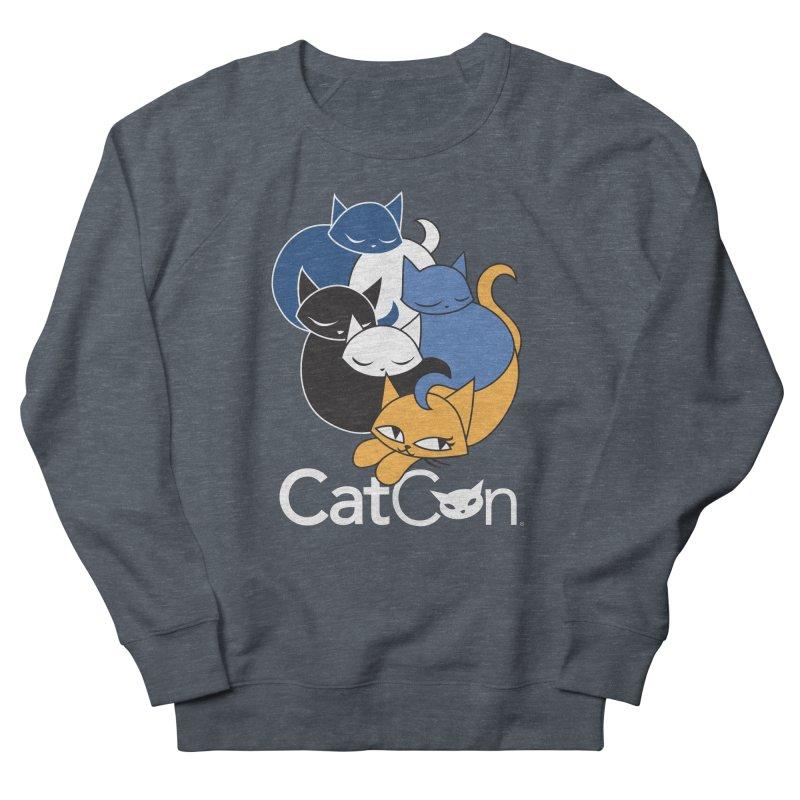 CatCon Five Cats Men's Sweatshirt by CatCon's Artist Shop