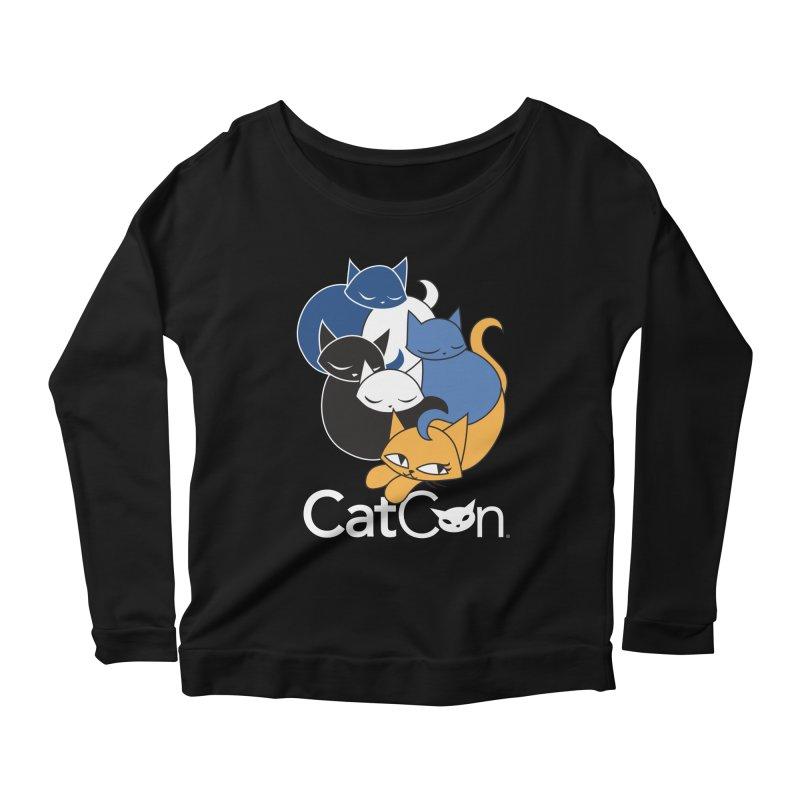 CatCon Five Cats Women's Longsleeve T-Shirt by CatCon's Artist Shop