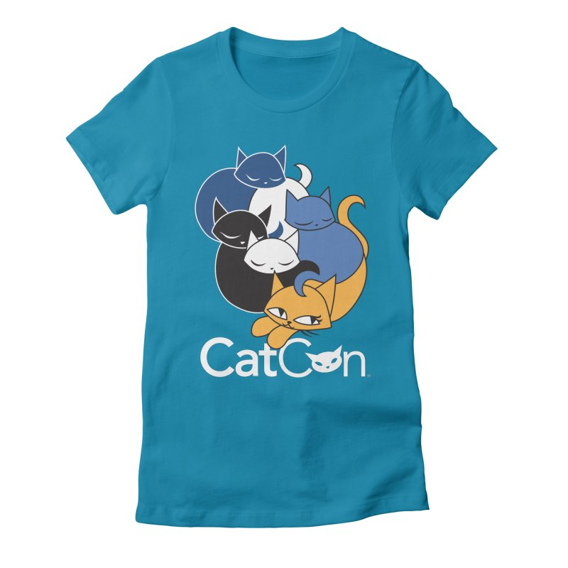 CatCon Five Cats Women's T-Shirt by CatCon's Artist Shop