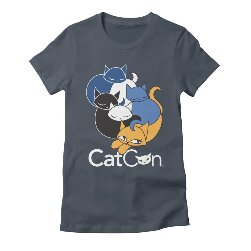 CatCon Five Cats Women's T-Shirt by CatCon's Artist Shop