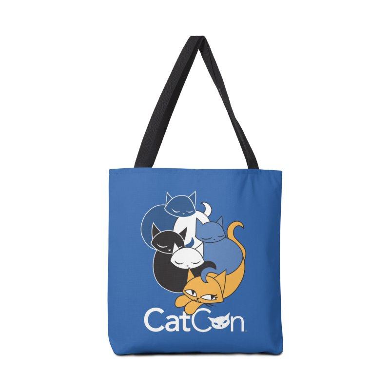 CatCon Five Cats Accessories Bag by CatCon's Artist Shop