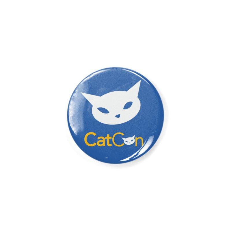 CatCon Logo Accessories Button by CatCon's Artist Shop