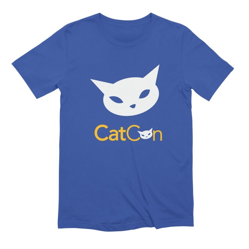 CatCon Logo Men's T-Shirt by CatCon's Artist Shop