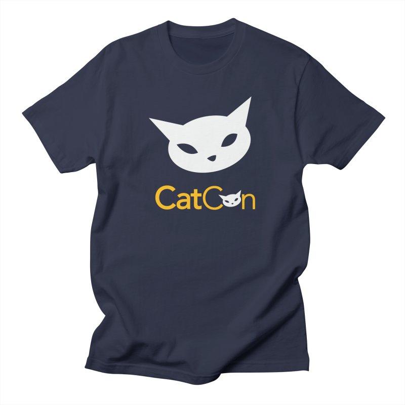 CatCon Logo Men's T-Shirt by CatCon's Artist Shop