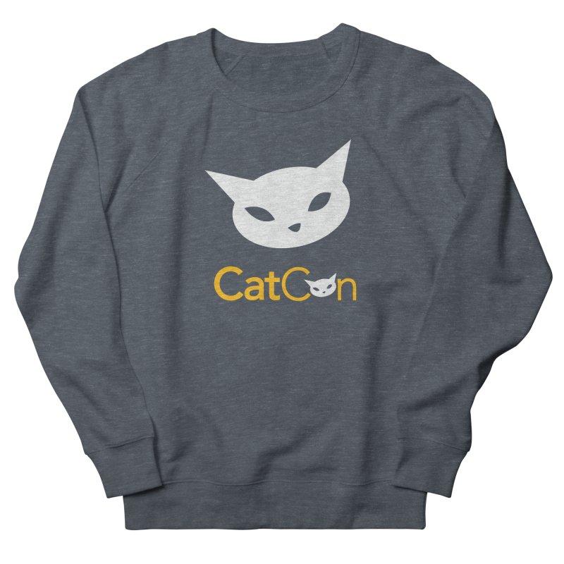 CatCon Logo Men's Sweatshirt by CatCon's Artist Shop