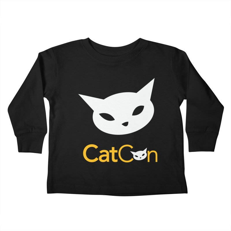 CatCon Logo Kids Toddler Longsleeve T-Shirt by CatCon's Artist Shop